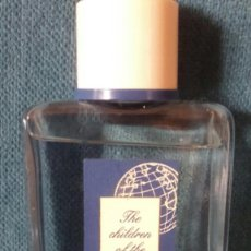 Miniaturas de perfumes antiguos: COLONIA UNICEF CHILDREN OF THE WORLD. 100 ML.. Lote 83847012