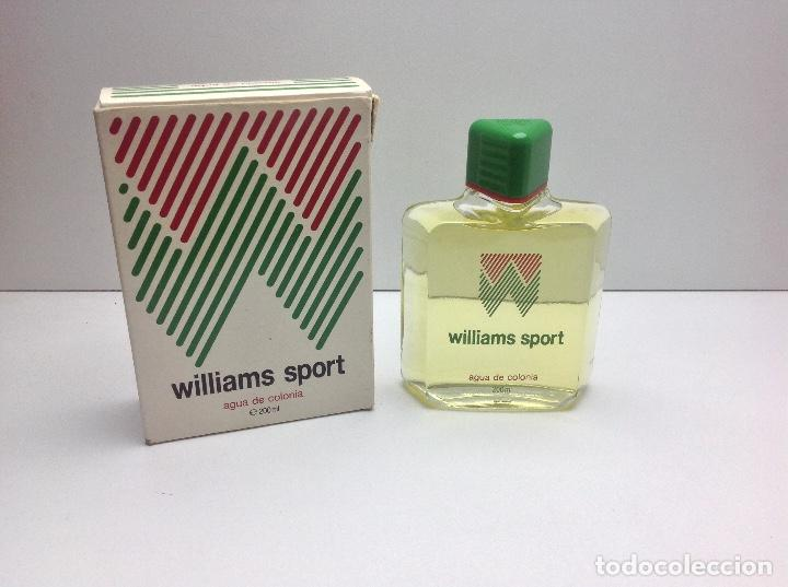 AGUA DE COLONIA WILLIAMS SOPORT 200 ML RESTO PERFUMERIA (Coleccionismo - Miniaturas de Perfumes)