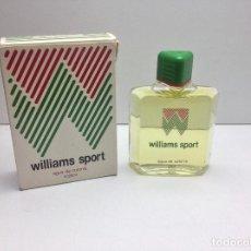 Miniaturas de perfumes antiguos: AGUA DE COLONIA WILLIAMS SOPORT 200 ML RESTO PERFUMERIA. Lote 86693100