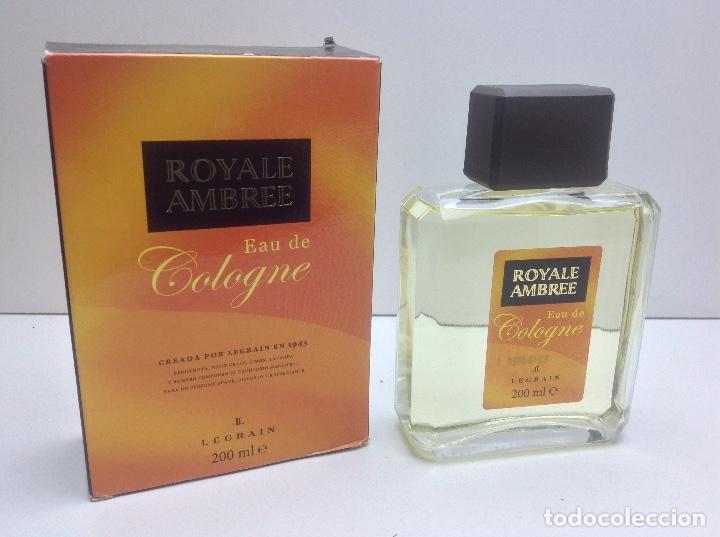 AGUA DE COLONIA ROYALE AMBREE 200ML RESTO PERFUMERIA (Coleccionismo - Miniaturas de Perfumes)