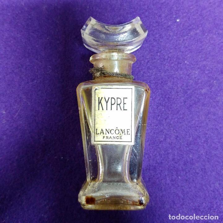 KYPRE. LANCOME. ANTIGUO FRASCO MINIATURA DE PERFUME. FRANCE. AÑOS 40. COLONIA. (Coleccionismo - Miniaturas de Perfumes)