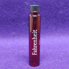Miniaturas de perfumes antiguos: FAHRENHEIT. CHRISTIAN DIOR. FRASCO MINIATURA DE PERFUME. PARIS. MUESTRA COLONIA.. Lote 86734648