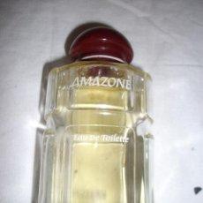 Miniaturas de perfumes antiguos: BOTELLA DE COLONIA AMAZONE. Lote 86870100