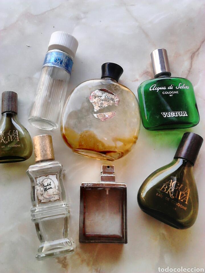 LOTE 7,FRASCOS DE COLONIA,VERA,VICTOR,PUIG,VER FOTOS (Coleccionismo - Miniaturas de Perfumes)