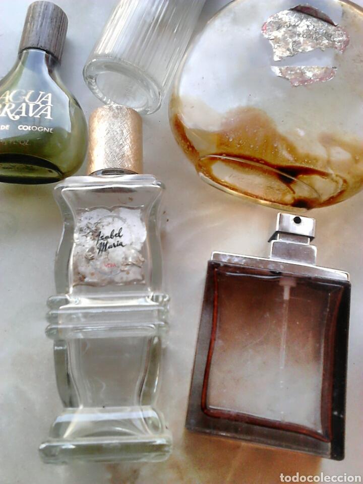 Miniaturas de perfumes antiguos: Lote 7,frascos de colonia,vera,victor,puig,ver fotos - Foto 2 - 87598092