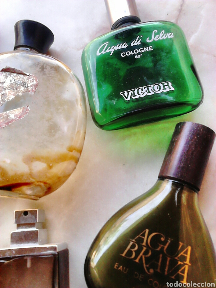 Miniaturas de perfumes antiguos: Lote 7,frascos de colonia,vera,victor,puig,ver fotos - Foto 3 - 87598092