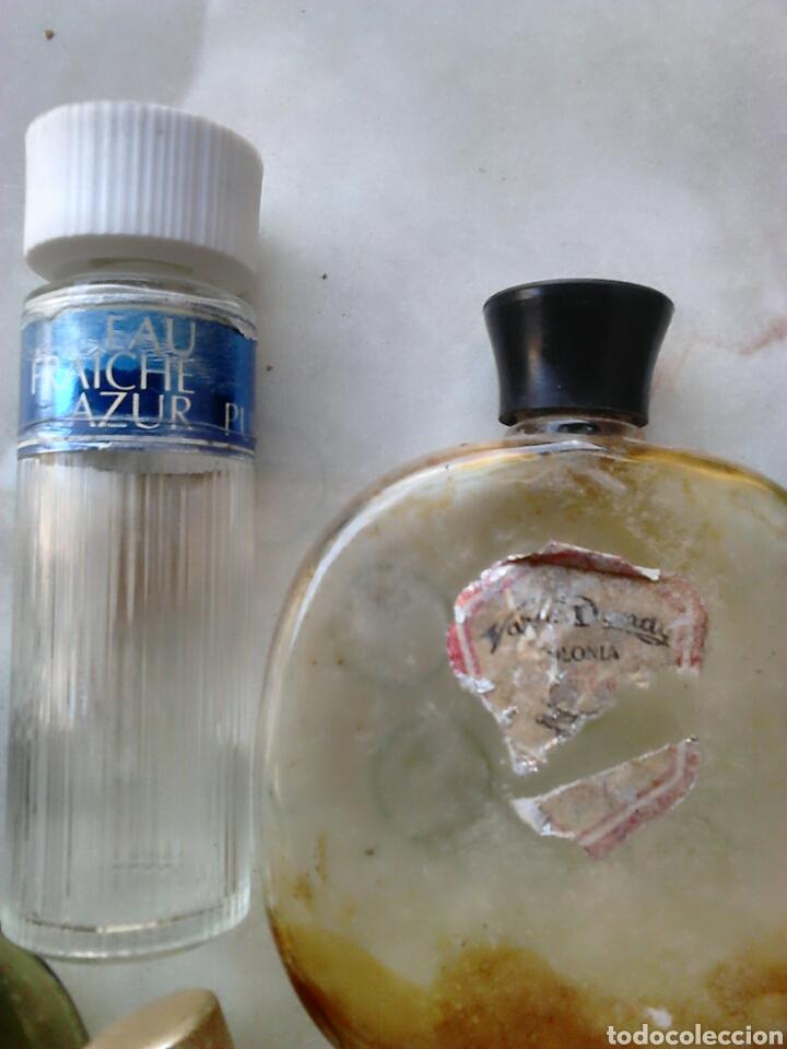 Miniaturas de perfumes antiguos: Lote 7,frascos de colonia,vera,victor,puig,ver fotos - Foto 4 - 87598092