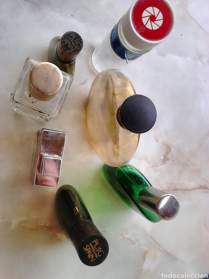 Miniaturas de perfumes antiguos: Lote 7,frascos de colonia,vera,victor,puig,ver fotos - Foto 6 - 87598092
