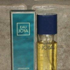 Miniaturas de perfumes antiguos: COLONIA,PERFUME,EAU JOYA DE MYRURGIA. EAU FRAÎCHE. 60 ML. 2 OZ. ATOMIZADOR,CON CAJA. Lote 87843612