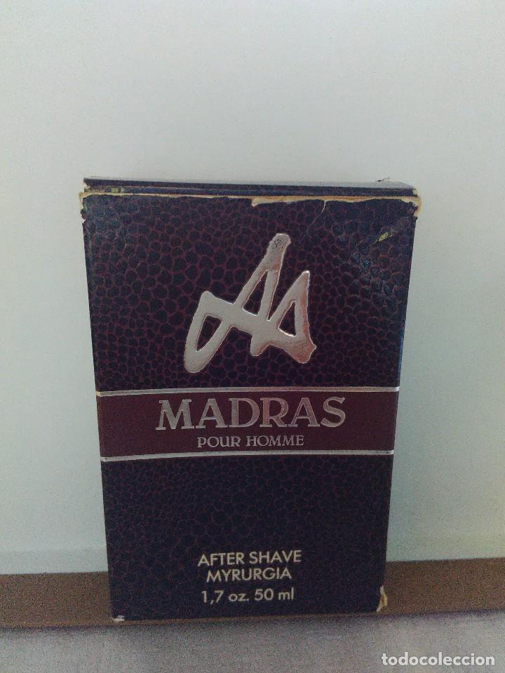 Miniaturas de perfumes antiguos: Madras After Shave de Myrurgia 50 ml. DESCATALOGADO - Foto 3 - 89501904