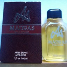Miniaturas de perfumes antiguos: MADRAS AFTER SHAVE DE MYRURGIA 100 ML. DESCATALOGADO. Lote 89502112