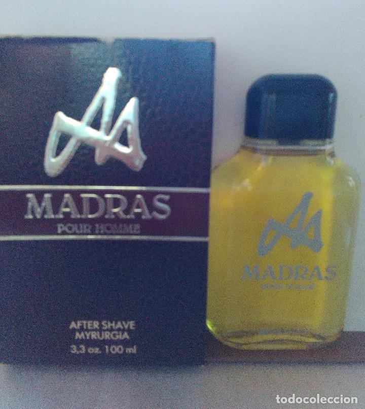 Miniaturas de perfumes antiguos: Madras After Shave de Myrurgia 100 ml. DESCATALOGADO - Foto 3 - 89502112