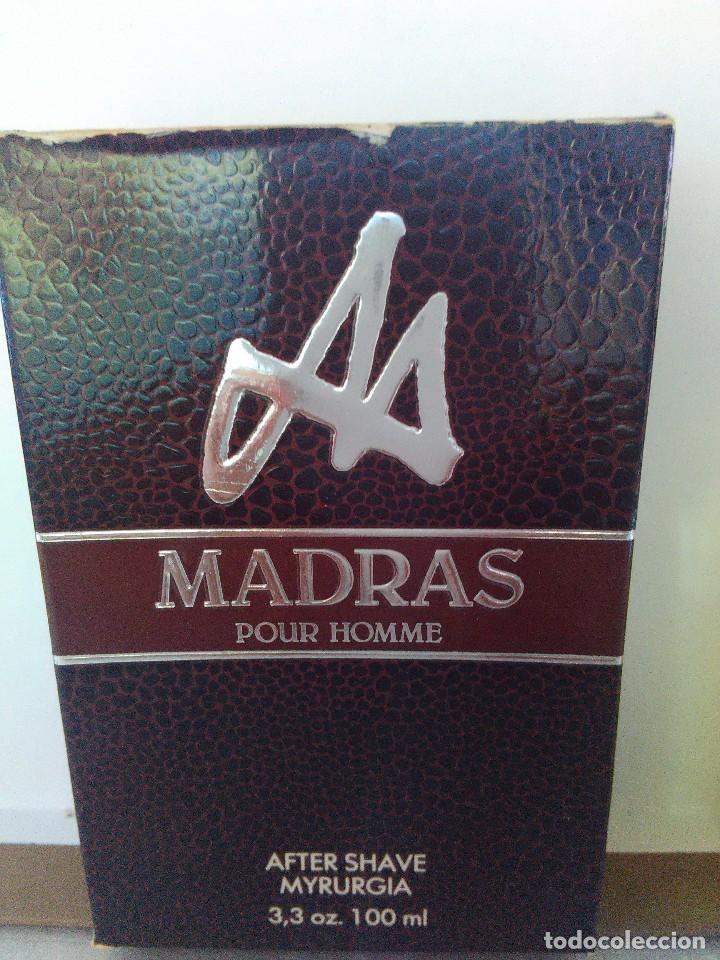 Miniaturas de perfumes antiguos: Madras After Shave de Myrurgia 100 ml. DESCATALOGADO - Foto 4 - 89502112