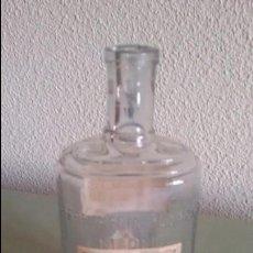 Miniaturas de perfumes antiguos: BOTELLA AGUA DE COLONIA FLORES DEL CAMPO PERFUMERÍAS FLORALIA MADRID.. Lote 90036944