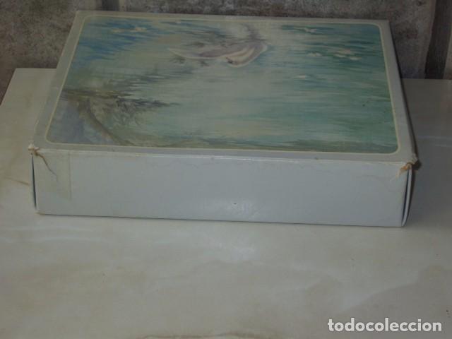 Miniaturas de perfumes antiguos: JABON AVON,CAJA DE JABONES AVON. - Foto 6 - 90619210