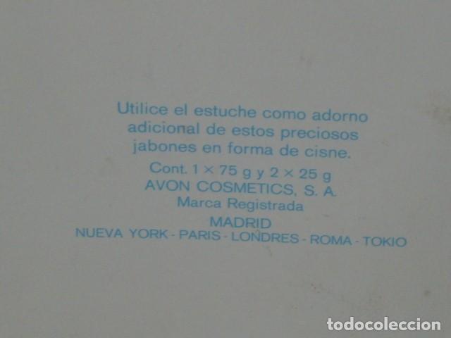 Miniaturas de perfumes antiguos: JABON AVON,CAJA DE JABONES AVON. - Foto 7 - 90619210