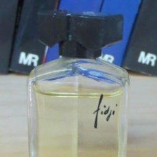 Miniaturas de perfumes antiguos: MINIATURA PERFUME FIDJI LLENA. Lote 90989565