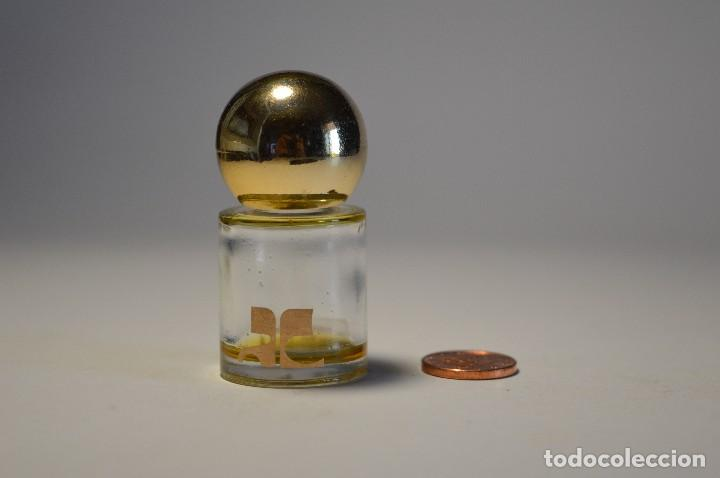 MINIATURA COLONIA PERFUME AC EMPREINTE EAU DE TOILETTE COURRÈGES PEQUEÑO FRASCO PIEZA COLECCIONISMO (Coleccionismo - Miniaturas de Perfumes)