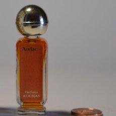 Miniaturas de perfumes antiguos: MINIATURA COLONIA PERFUME AUDACE PARFUMS ROCHAS PEQUEÑO FRASCO SIN CAJA PIEZA COLECCIONISMO. Lote 91273165