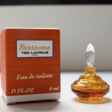 Miniaturas de perfumes antiguos: MINIATURA DE PERFUME FANTASME DE TED LAPIDUS EN SU CAJA, EAU DE TOILETTE, MINI PARFUM 4 ML. Lote 92197845