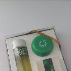 Miniaturas de perfumes antiguos: VERTE PUIG ESTUCHE ANTIGUO ENVASE NUEVO. Lote 93980217