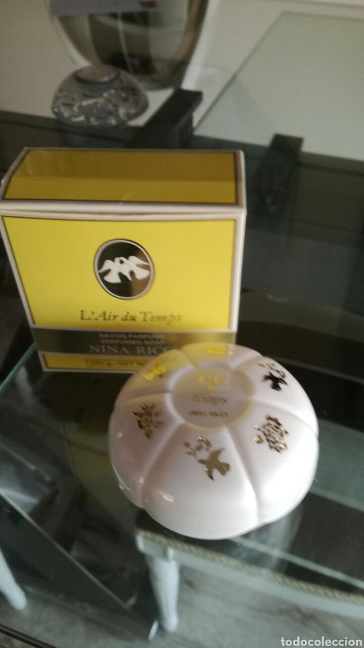 JABÓN L AIR DU TEMPS NINA RICCI (Coleccionismo - Miniaturas de Perfumes)