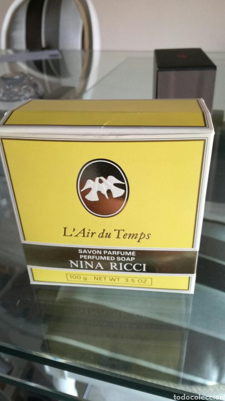 Miniaturas de perfumes antiguos: Jabón l air du temps NINA RICCI - Foto 6 - 95019295