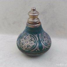 Miniaturas de perfumes antiguos: PEQUEÑO DOSIFICADOR - POSIBLEMENTE MADE IN GREECE - 5.5 CM. DE ALTURA APROX. - VACIO. Lote 95104831