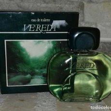 Miniaturas de perfumes antiguos: COLONIA VEREDA 50ML. Lote 195426527