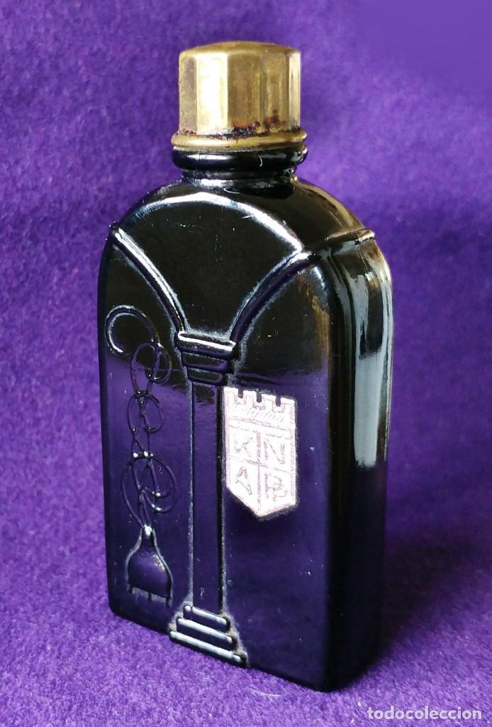 ANTIGUO FRASCO MINIATURA MODERNISTA DE PERFUME KNAPP. PROPIEDAD CLAVEL. AÑOS 20. RARO. KNAP. K N A P (Coleccionismo - Miniaturas de Perfumes)