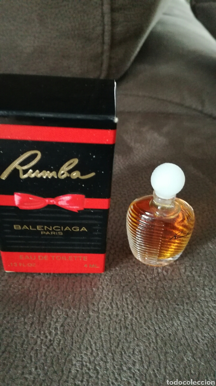 Entrada Berri quiero  miniatura de perfume rumba de balenciaga - Buy Miniatures of old perfumes  at todocoleccion - 96832564