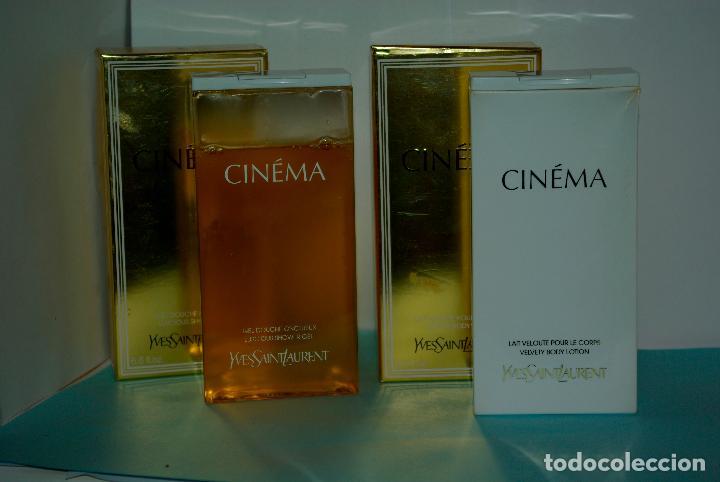 Gel Douche Y Lait Corps Cinema De Yves Saint Buy Miniatures Of