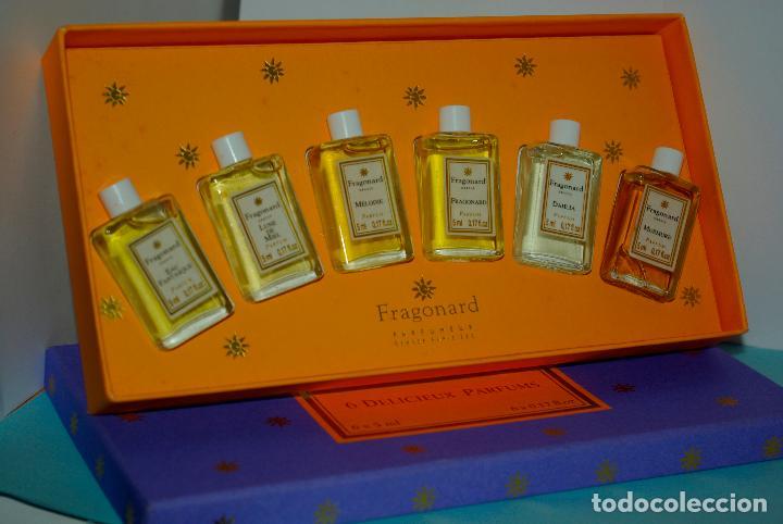 Estuche 6 Delicieux Parfums De Fragonard Kaufen Miniaturen