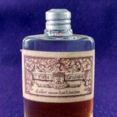 Miniaturas de perfumes antiguos: ANTIGUO FRASCO DE PERFUME VIEJA LAVANDA. CALBER. SAN SEBASTIAN. 1922 CREACION. MINIATURA.. Lote 99364487