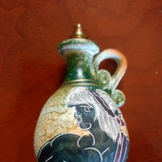 Miniaturas de perfumes antiguos: ESENCIERO GRIEGO DE CERAMICA - 11 X 6 CENTIMETROS . Lote 100088991