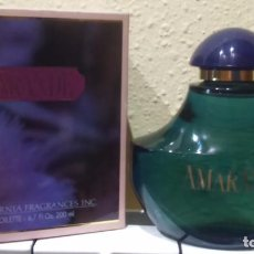 Miniaturas de perfumes antiguos: COLONIA AMARANDE 200 ML -MYRURGIA. Lote 135510297