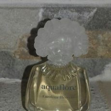 Miniaturas de perfumes antiguos: MINIATURA PERFUME AQUAFLORE DE CAROLINA HERRERA. Lote 101784115