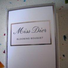 Miniaturas de perfumes antiguos: MUESTRA MISS DIOR BLOOMING BOUQUET. Lote 102101183