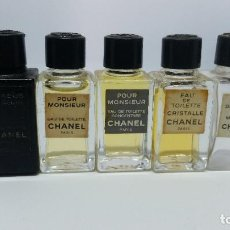 Miniaturas de perfumes antiguos: MINIATURA PERFUME 5 MINIATURA CHANEL DISTINTAS. Lote 102165067