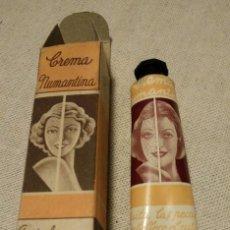 Miniaturas de perfumes antiguos: CREMA NUMANTINA, QUITA LAS PECAS, AÑOS 50. Lote 142156289