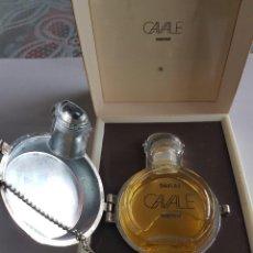 Miniaturas de perfumes antiguos: RARO-FABERGÉ-CAVALE-PERFUME MINIATURA PRINCIPIOS 70'S-DESCATALOGADO. Lote 103128207