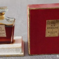 Miniaturas de perfumes antiguos: PERFUME UN AIR EMBAUMÉ RIGAUD PARÍS - FRANCE . Lote 103131795