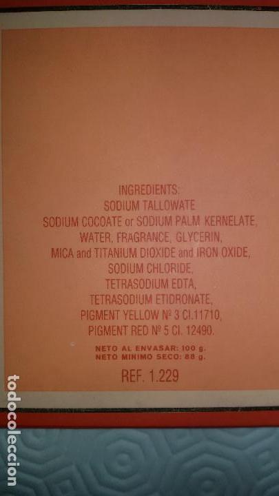 Miniaturas de perfumes antiguos: LOEWE AURA. PASTILLA JABON Y JABONERA. DESCATALOGADA Y PRECINTADA. 100 G. - Foto 3 - 103225407