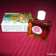 Miniaturas de perfumes antiguos: ANTIGUO FRASCO DE PERFUME CON CAJITA.PARFUM KONOMITU. Lote 104060983