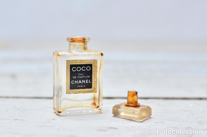 PERFUME CHANEL MINIATURA FRASCO COLONIA MINI EAU PARFUM PARIS BOTE CRISTAL (Coleccionismo - Miniaturas de Perfumes)