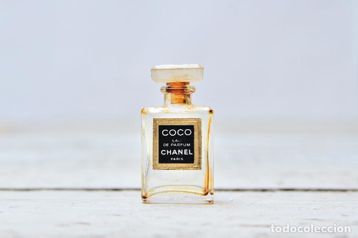 Miniaturas de perfumes antiguos: PERFUME CHANEL MINIATURA FRASCO COLONIA MINI EAU PARFUM PARIS BOTE CRISTAL - Foto 2 - 104381787