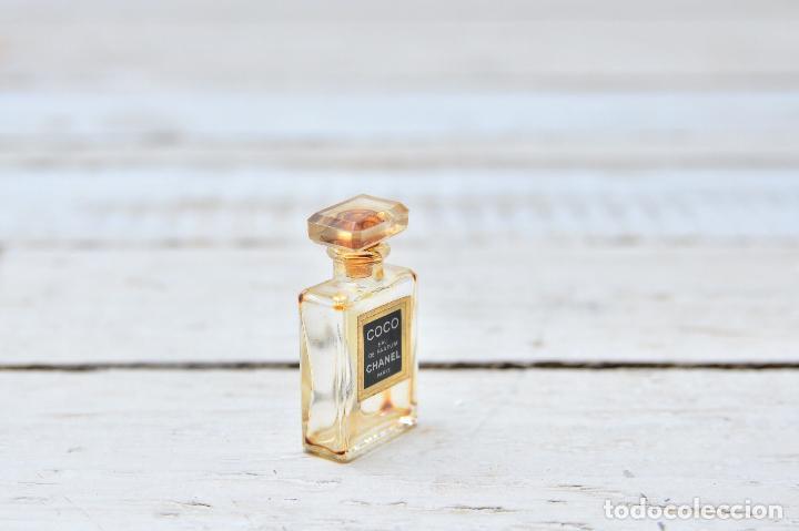 Miniaturas de perfumes antiguos: PERFUME CHANEL MINIATURA FRASCO COLONIA MINI EAU PARFUM PARIS BOTE CRISTAL - Foto 3 - 104381787