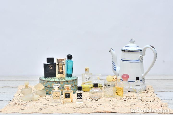 Miniaturas de perfumes antiguos: PERFUME CHANEL MINIATURA FRASCO COLONIA N5 MINI EAU PARFUM PARIS BOTE CRISTAL - Foto 5 - 104382255