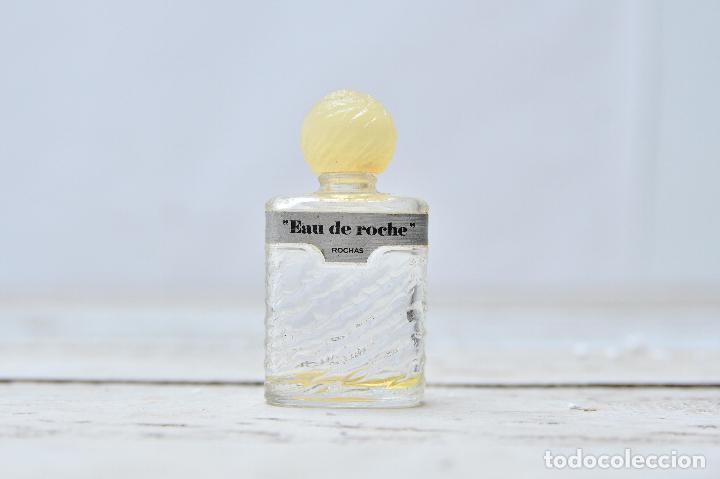 PERFUME EAU DE ROCHE MINIATURA FRASCO COLONIA ROCHAS MINI EAU TOILETTE PARFUM PARIS BOTE CRISTAL (Coleccionismo - Miniaturas de Perfumes)