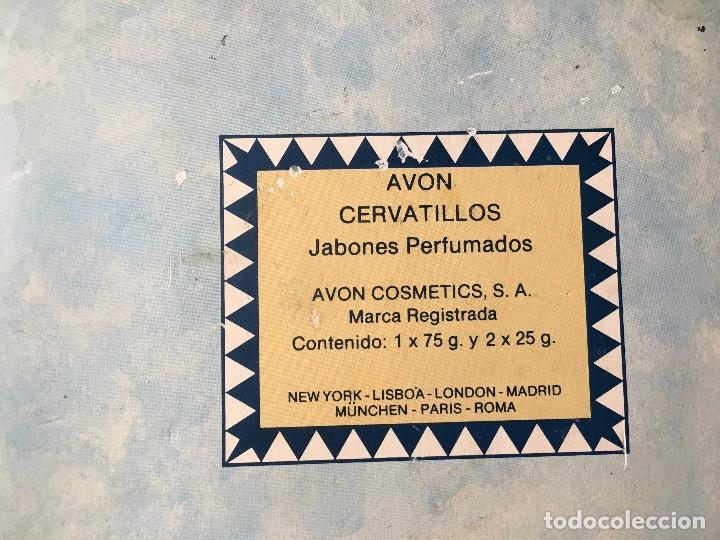 Miniaturas de perfumes antiguos: ANTIGUA CAJA AVON CERVATILLOS DE JABON, - Foto 3 - 104617659